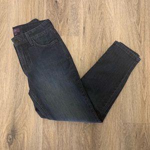 NYDJ Dark Wash Petite Straight Leg Jean